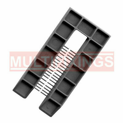 100pcs - 10mm Grey - 50mm x 100mm Plastic Window Packers and Levelling Shims