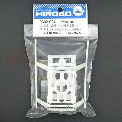 Hirobo 0302-024 Srb Skid And Battery Holder #0302024 Helicopter Parts
