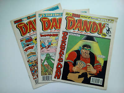 DANDY COMICS from the 1990s Vintage Collectable * Buy 4 get 1 FREEE *