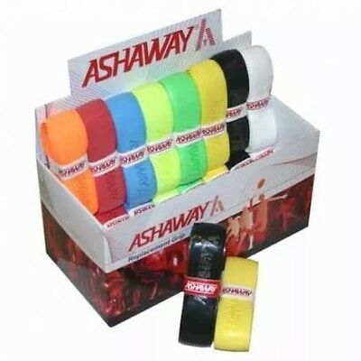 Ashaway Pu Super Replacement Grip - Box 24 Mixed Colour Grips - Rrp £65