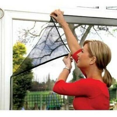 150 x 130 cm Mosquito / Insect Screen for doors and windows Super transparent