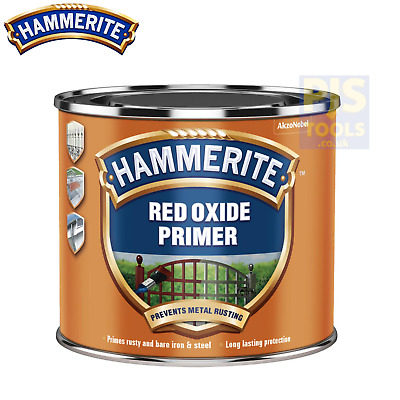 Hammerite 500ml red oxide primer for bare metals, iron & steel