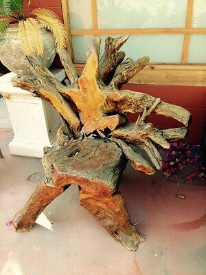 Antique Root Chair Vintage