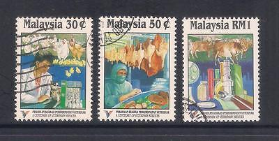 (UXMY015) MALAYSIA 1994 100th Anniversary of Veterinary Services fine used set