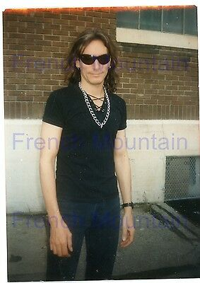 "Steve Vai 3.5x5"" Color Candid Snapshot Photo 3122"