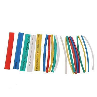 20 Piece Heat Shrink Tubing Electrical Wire Loom Multi Color 5 Size Precut New