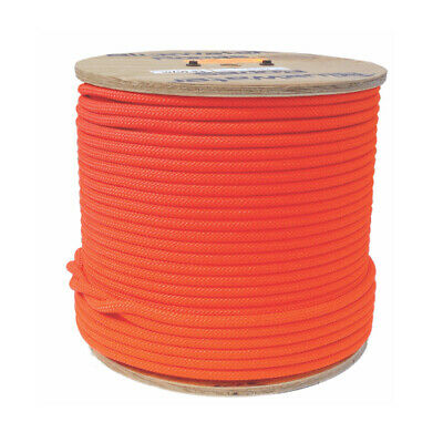 Bluewater Static Rescue Rope Assaultline ++ Static 11.2mm Orange (50m Length)