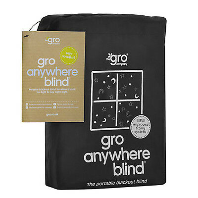 Gro Company GRO ANYWHERE BLACKOUT BLIND BLACK