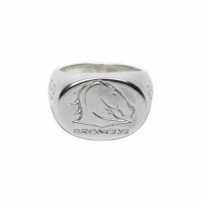 Bronco's Sterling Silver Ring