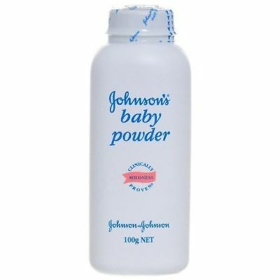 Johnson's Baby Powder 100 g Mildness Absorbs excess moisture for silky-soft skin