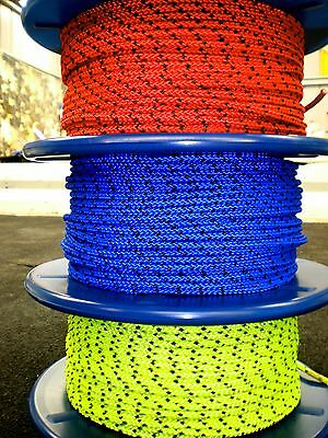 "5mm SPECTRA HIGH PERFORMANCE YACHT ROPE. "" SOLD PER METRE "" VERY STRONG ROPE"