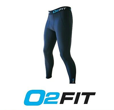 Mens Black Compression Tights New Pants Sports Gym Run Base AFL Layers Rugby