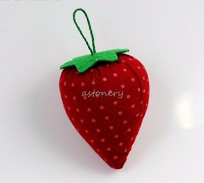 6- PACK Strawberry Pin Cushion for Sewing