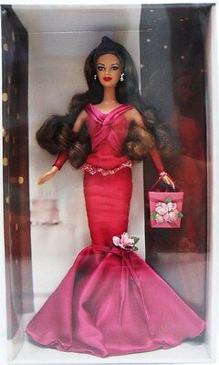 "MATTEL C6229 BARBIE - ""BARBIE BIRTHDAY-WISHES"" - ROSSA no coperchio scatola"