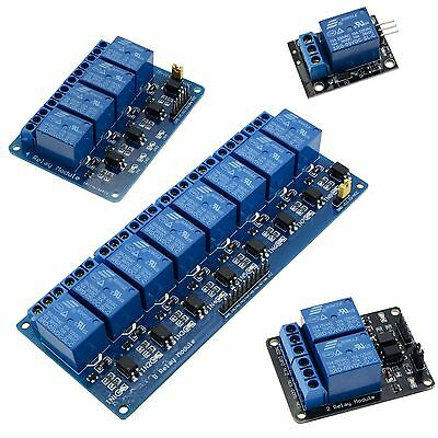 5V 1/2/4/8 Channel Relay Board Module for Arduino Raspberry ARM AVR PIC