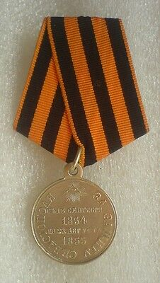 For defense of Sevastopol 1854-1855 Russian Imperial Military Medal