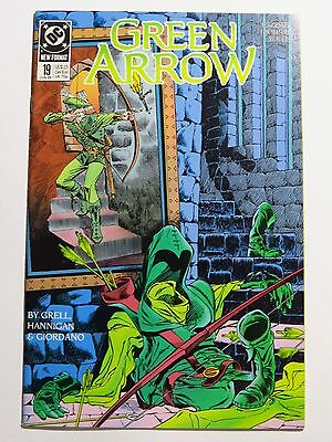 Green Arrow Issue 19 and 20, Jun 89 - Jul 89 (DC Comics - Copper Age)