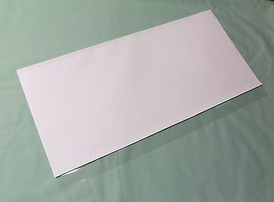 """5 8"""" x 17 1/2"""" Brodart Just-a-Fold III Archival Book Jacket Covers - super clear"""