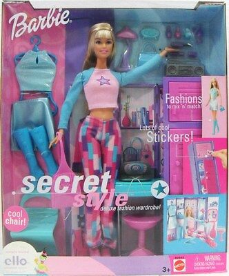 "Mattel B0645 Barbie - ""secret Style"" - Fashion Doll"