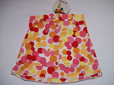 Bnwt Girls Be Dottie 'Sunny Spots' Skirt - Fully Lined - Ages 3-4 & 6-7 Only