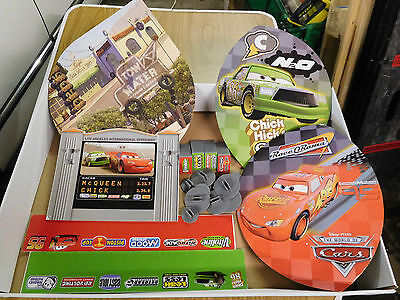 Micro Scalextric Disney Cars Scenery Boards  - Bundle/joblot