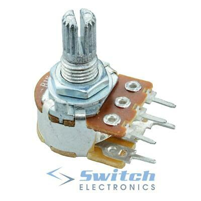 Mono Linear / Logarithmic 16mm Potentiometers Pots W/Switch
