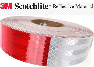 3M Diamond Grade 40 Ft DOT-C2 7 11 REFLECTIVE CONSPICUITY TAPE SEMI TRAILER RV