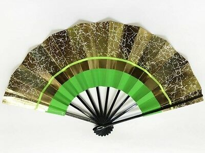 Vintage Japanese Geisha Odori 'Maiogi' Folding Dance Fan from Kyoto: Design J65