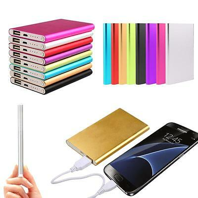 Ultrathin 10400mAh Portable Battery Charger Power Bank For Samsung S7 iPhone 6