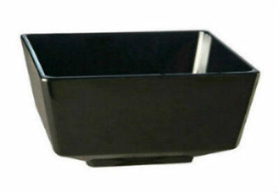 APS Float - Black Melamine Square Condiment Dish - Picnic Condiment Dish
