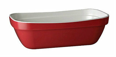 APS Red Melamine Serving Dish - Gastronorm Pan 1/4 Size