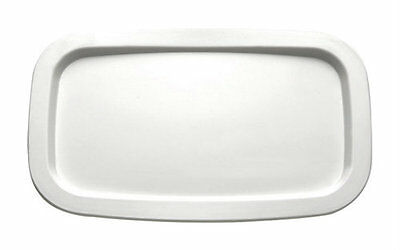 APS White Melamine Serving Tray/Cover - Gastronorm Tray 1/4
