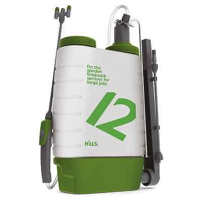 Hills 12L Garden Knapsack Sprayer with Adjustable Multi Directional Nozzles