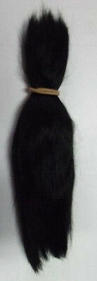 Reborn Doll Beautiful Mohair  BLACK  (1/2 Ounce) 15 grams