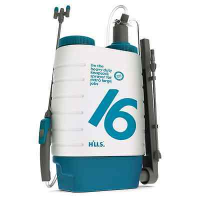 Hills 16L Industrial Viton Heavy Duty Knapsack Sprayer for Pest Control - Aust