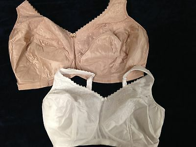 e9a13a66a NWOT Glamorise Full Figure Support Wire Free Bra 1100 Choose Color Size