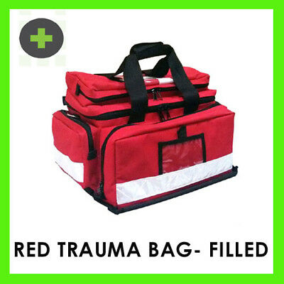 Paramedic Style Professional Trauma Survival First Aid Kit/ Bag -Filled