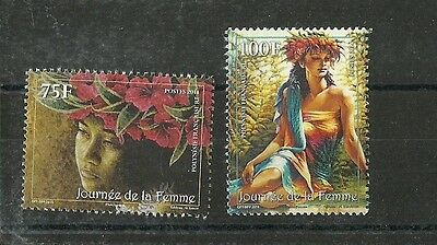 French Polynesia Women  Vahines Complete Set  Mnh 2014