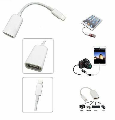 Camera Connection Kit Dock Connector to USB OTG Adapter Cable for iPad 4 & Mini