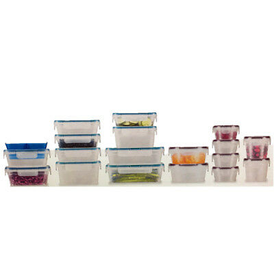 38 pc Snapware Total Solution Plastic Food Storage Set Airtight Leakproof