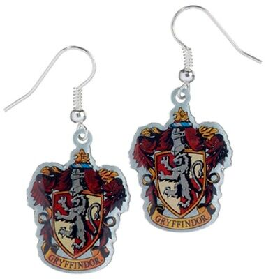 Harry Potter : Gryffindor Crest Earrings from The Carat Shop