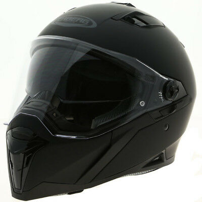 Caberg Stunt Full Face Touring Motorbike Motorcycle Helmet - Matt Black