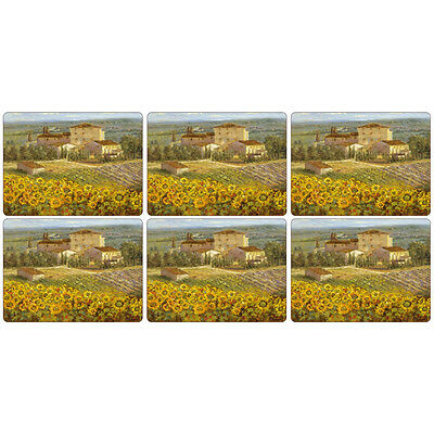 Pimpernel Tuscany Placemats Set of 6