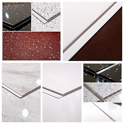 1m and 25cm wide shower kitchen PVC wall and ceiling panels all designs / sizes