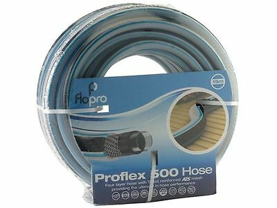 Flopro 500 Reinforced Replacement Garden Hose 15m 20 Year Guarantee