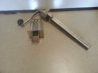 #1 Manual Can Opener with Plated Steel Base