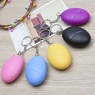 Personal Security Loud Panic Alarm Key Chain Siren Child Children Elderly Gadget
