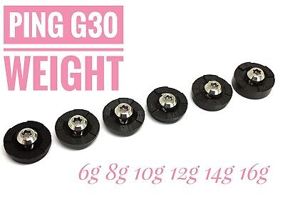 Golf weight for Ping G30 6g 8g 10g 12g 14g 16g individual or set