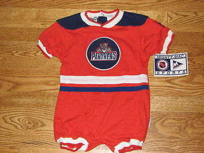 NEW Baby Florida Panthers Jersey Creeper Size 24M 24 Mo Boys Girls Romper bd2ba65f0