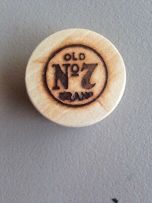 Jack Daniels Wooden Whiskey Barrel Cork No7